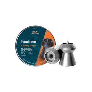 Haendler & Natermann Pellets and BBs 1 H&N Terminator .177 Cal, 7.25 gr - 400 ct 0.177