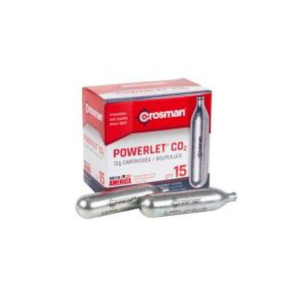 Crosman Air Gun Accessory 1 Crosman 12 gram CO2, 15 Pack