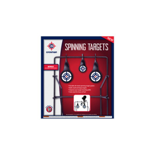 Crosman Air Gun Accessory 1 Crosman Spinning Logo Target
