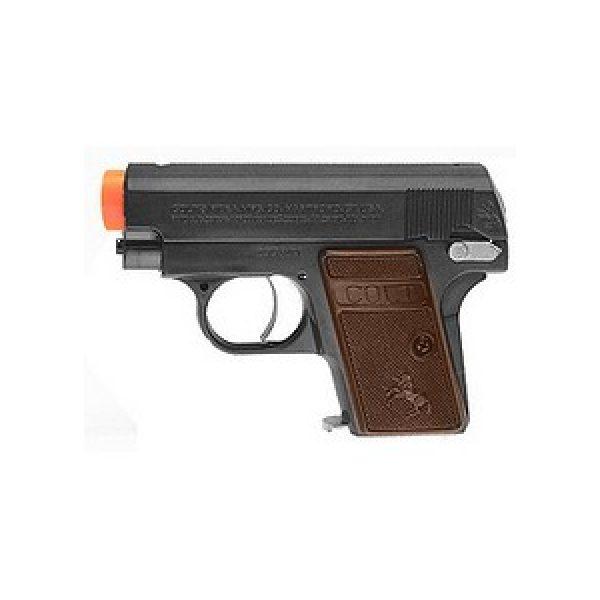Cybergun Airsoft Pistol 1 Colt .25 Airsoft Pistol, Black 6mm