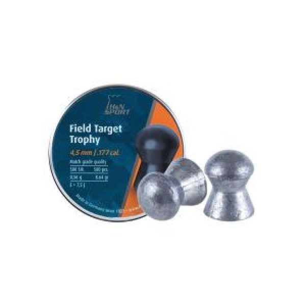 Haendler & Natermann Pellets and BBs 1 H&N Field Target Trophy (4.52mm) .177 Cal, 8.64 gr - 500 ct 0.177