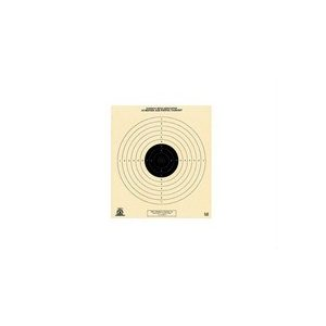 National Target Company Air Gun Accessory 1 National Target Single 10m Air Pistol Target, 100 ct