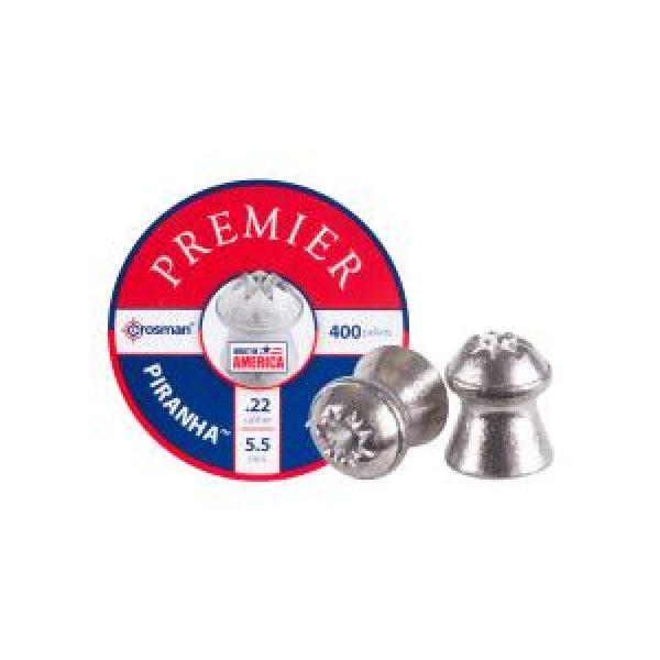 Crosman Pellets and BBs 1 Crosman Premier Piranha .22 Cal, 14.3 gr - 400 ct 0.22