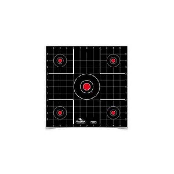 "Birchwood Casey Air Gun Accessory 1 Birchwood Casey Dirty Bird 12"" Sight-In Target, 12 ct"
