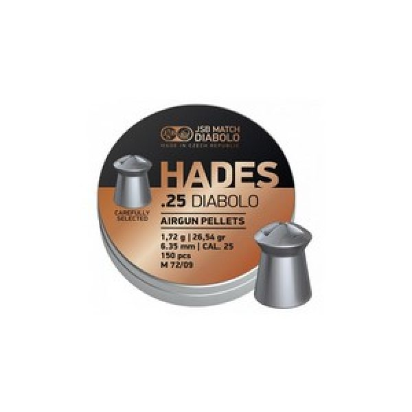 Jsb Pellets and BBs 1 JSB Match Diabolo Hades .25 Cal, 26.54gr - 150 ct 0.25