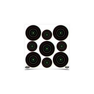 "Birchwood Casey Air Gun Accessory 1 Birchwood Casey Dirty Bird Multi-Color 2"" & 3"" Targets, 20 ct"