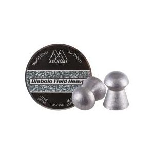 Air Arms Pellets and BBs 1 Air Arms Diabolo Field Heavy .22 Cal (5.52mm), 18 gr - 250ct 0.22