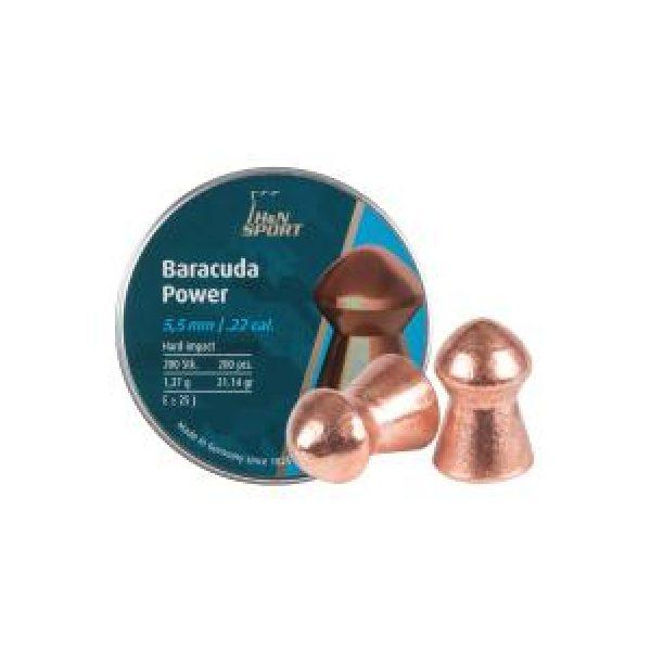 Haendler & Natermann Pellets and BBs 1 H&N Baracuda Power .22 Cal, 21.14 gr - 200 ct 0.22