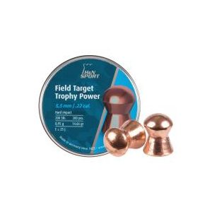 Haendler & Natermann Pellets and BBs 1 H&N Field Target Trophy Power Copper .22 Cal, 14.66 gr - 200 ct 0.22