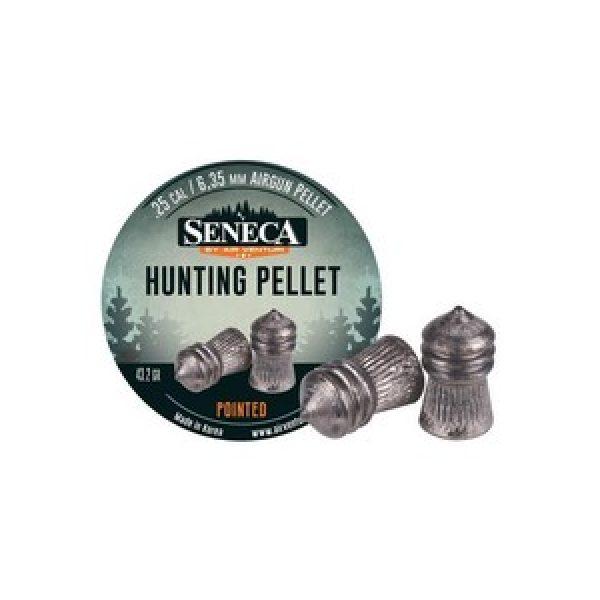 Seneca Pellets and BBs 1 Seneca Hunting Pellets, .25 Cal, 43.2 gr - 83ct 0.25