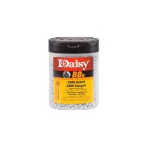 Daisy Pellets and BBs 1 Daisy Premium Grade BBs .177 Cal, 5.1 Grains, Zinc Plated (2400ct) 0.177