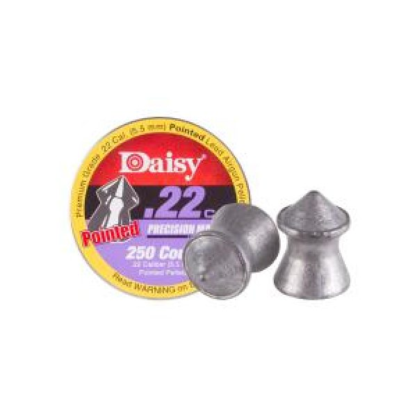 Daisy Pellets and BBs 1 Daisy Precision Max Pointed .22 Cal, 14 gr - 250 ct 0.22
