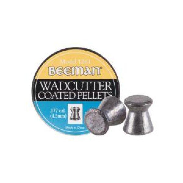 Beeman Pellets and BBs 1 Beeman Wadcutter Coated .177 Cal, 7.8 gr - 250 ct 0.177