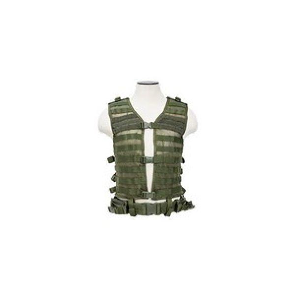 Ncstar Air Gun Accessory 1 NcSTAR PALS Modular Vest OD Green