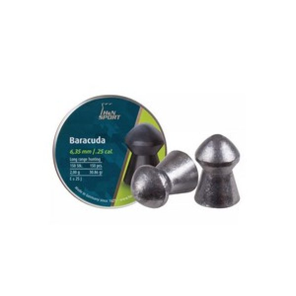 Haendler & Natermann Pellets and BBs 1 H&N Baracuda .25 Cal, 30.86 gr - 150 ct 0.25