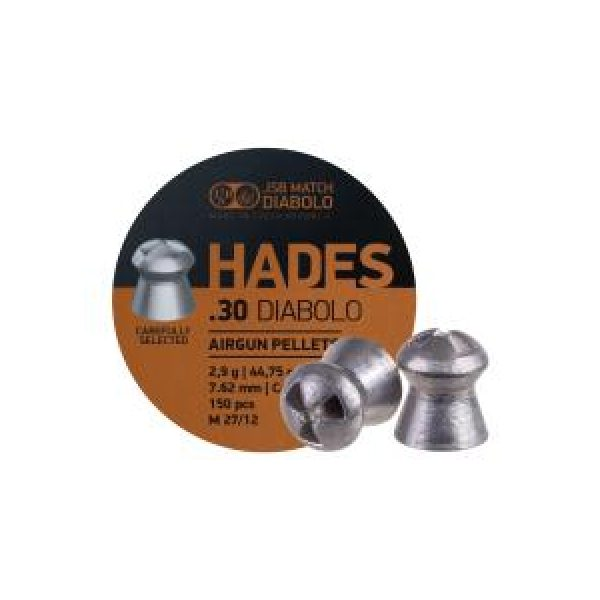Jsb Pellets and BBs 1 JSB Match Diabolo Hades .30 Cal, 44.75 gr - 150ct 0.30