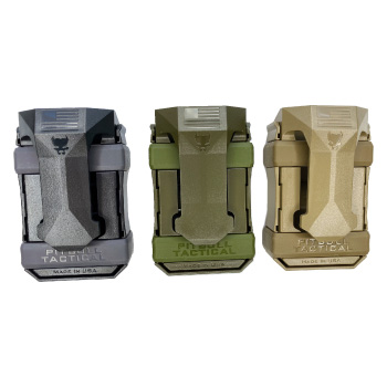 Pitbull Tactical Universal Magazine Carrier Gen Tri Back View