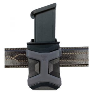 Universal CCW Magazine Carrier with Glock 17 Magazine on 5.11 Belt Front View
