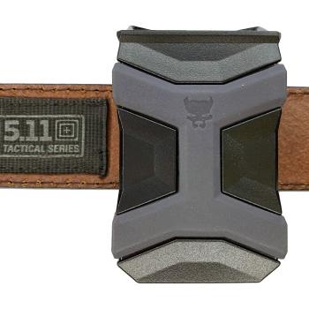 Universal CCW Magazine Carrier with Glock 17 Magazine on 5.11 Belt Inside Waist Band IWB Other Side