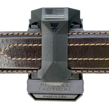 Universal CCW Magazine Carrier with Glock 17 Magazine on 5.11 Belt Inside Waist Band IWB